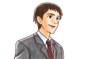 スーツ姿の上司・社会人男性のバストアップ
