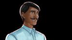 悲しみ・落ち込む表情を見せるインド人エンジニア