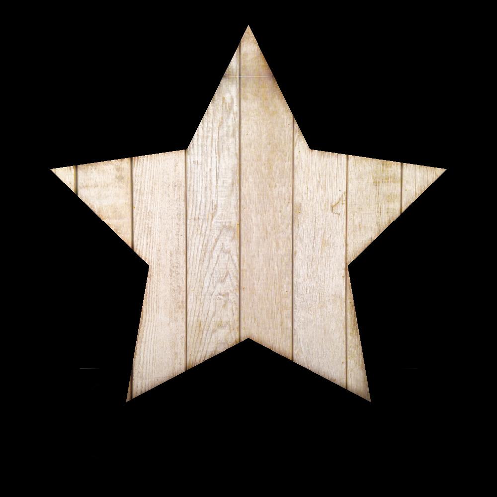 星型の木目のおしゃれな吹き出しのフリーイラスト画像素材【商用無料