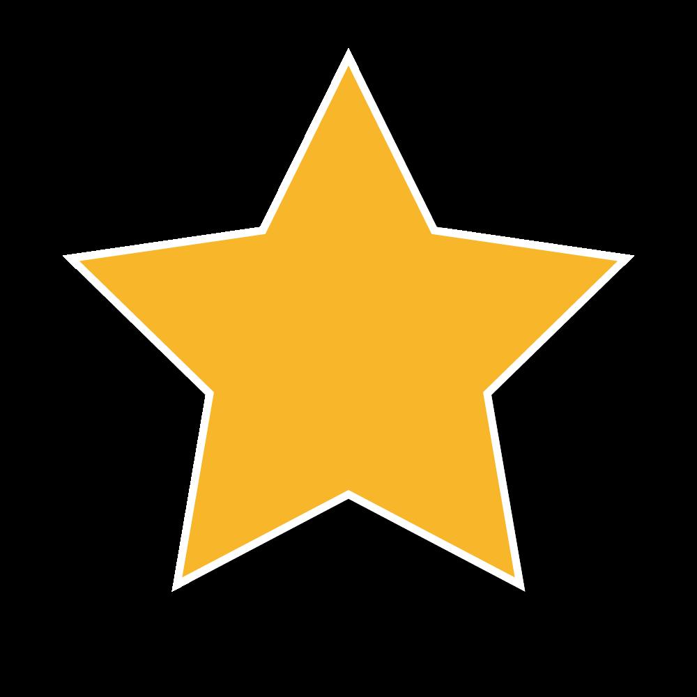 星型のポップな吹き出しのフリーイラスト画像素材【商用無料】   アイ