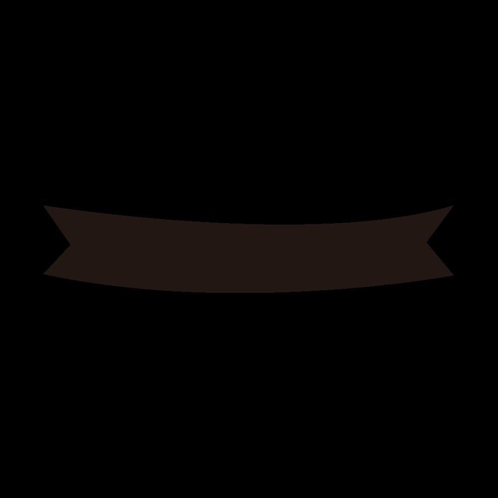 Rough ribbon silhouette decorative ruling / design frame 2 ...